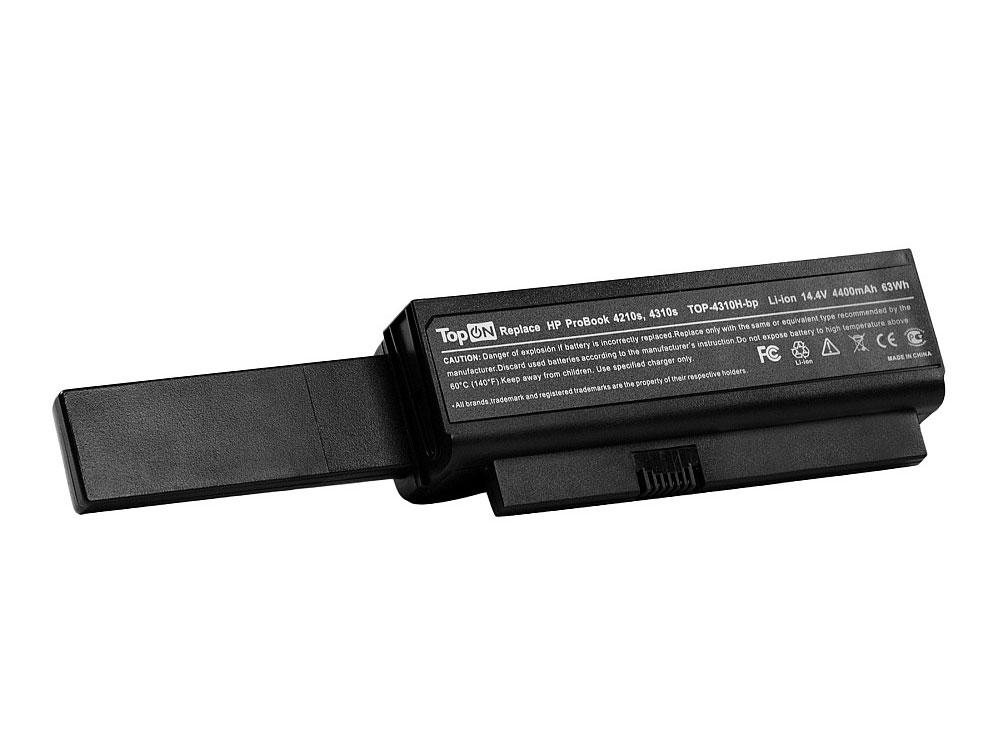 Аккумулятор для ноутбука TopON TOP-4310H для HP ProBook 4210s, 4310s, 4311s Series - 14.4V 4400mAh цена и фото