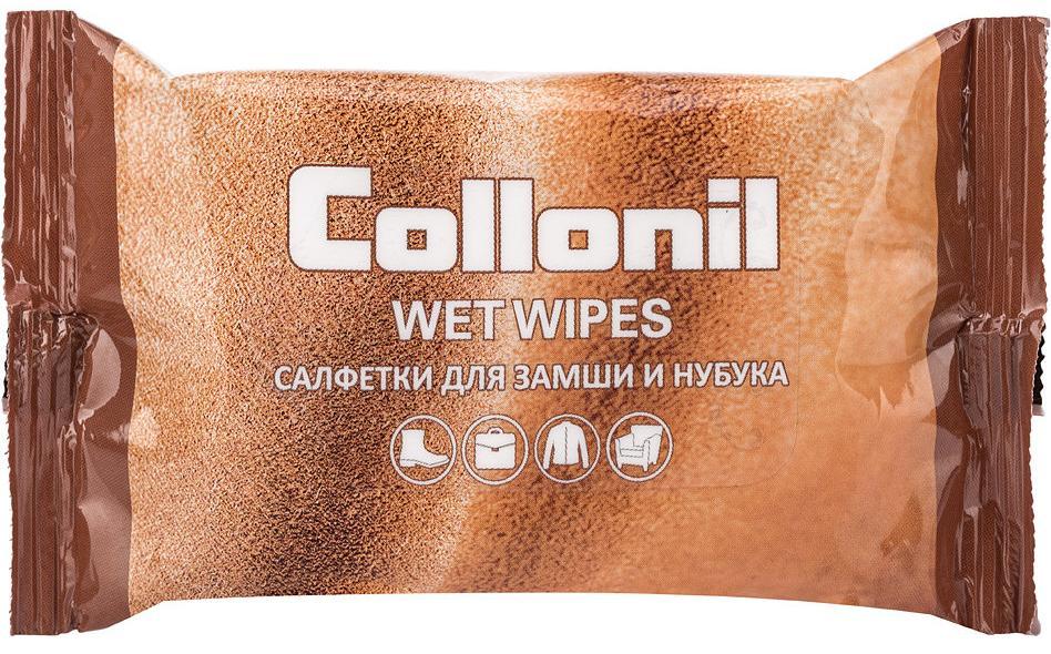 Салфетки влажные Collonil №15 для замши, нубука и велюра цена и фото
