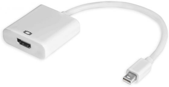 Greenconnect Адаптер-переходник Apple mini DisplayPort 20M HDMI 19F (33-050546) greenconnect gl cvdp11 адаптер vga displayport