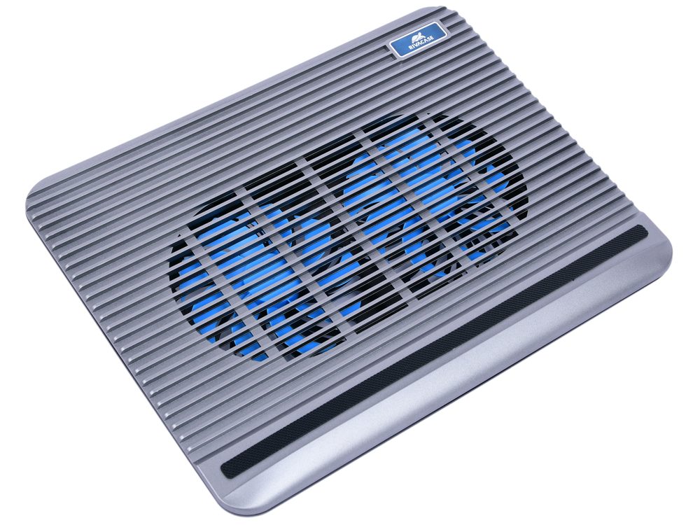 Охлаждающая подставка для ноутбука 15.6 RIVACASE 5555 silver crown micro cmls 01 black red охлаждающая подставка для ноутбука 17