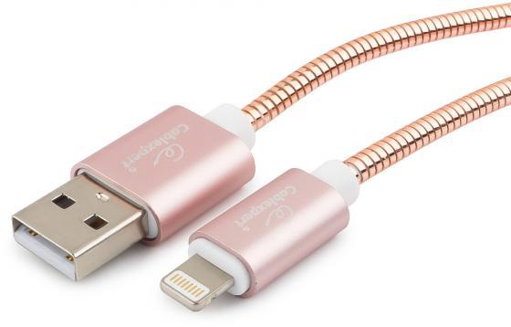 Кабель для Apple Cablexpert CC-G-APUSB02Cu-0.5M, AM/Lightning, серия Gold, длина 0.5м, золото, блист