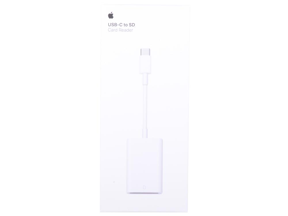 Адаптер Apple USB type-C - слот для чтения SD-карт (MUFG2ZM/A)
