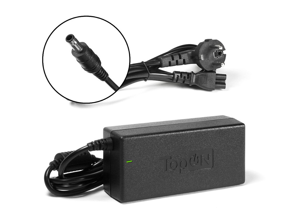 Зарядное устройство для ноутбука TopON TOP-SA01 Samsung P560, R540, R780, RV720, RC710. X118, NP355 Series. 19V 3.16A зарядное
