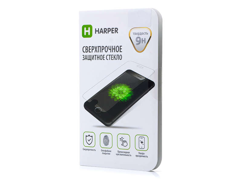 Защитное стекло HARPER для Apple IPhone 8/7/6 Plus SP-GL IPH_6P/6sP/7P/8P (100% совместимость) цена