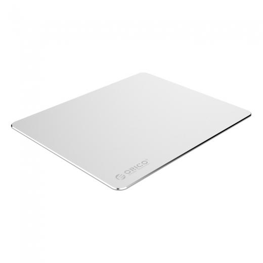 лучшая цена Коврик для мыши ORICO AMP2218-SV, алюминиевый сплав + силиконовая подкладка, матовая анодированная поверхность, 220мм. х 180мм. х 2мм.