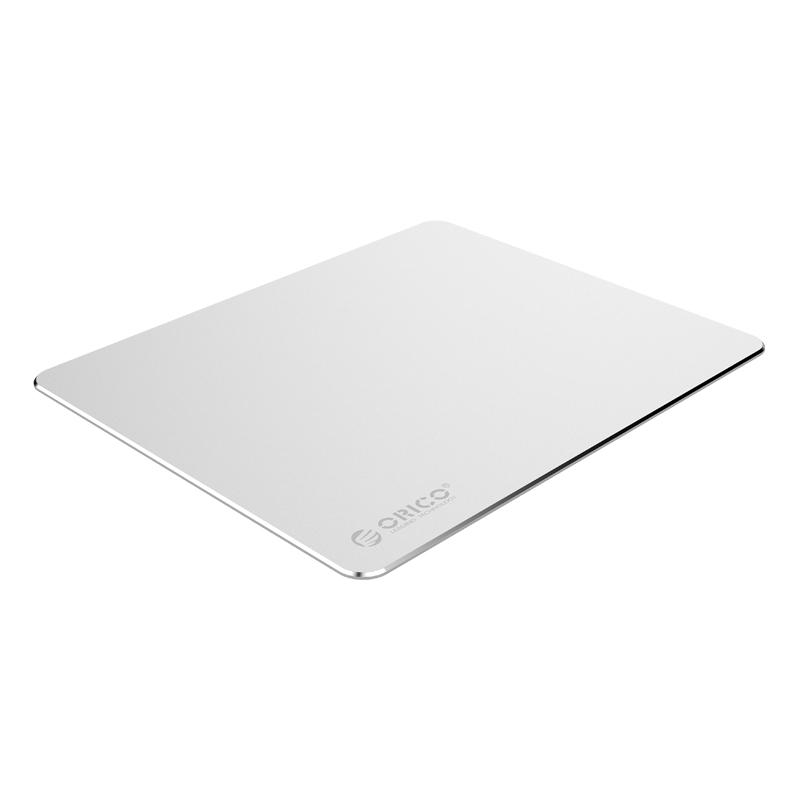 Картинка для Коврик для мыши ORICO AMP3025-SV, алюминиевый сплав + силиконовая подкладка, матовая анодированная поверхность, 300мм. х 250мм. х 2мм