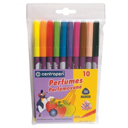 Набор фломастеров Centropen Perfumed 2589/10К 2-3 мм 10 шт 151176