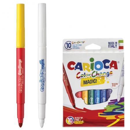 Набор фломастеров CARIOCA Color Change 42737 6 мм 10 шт 151214
