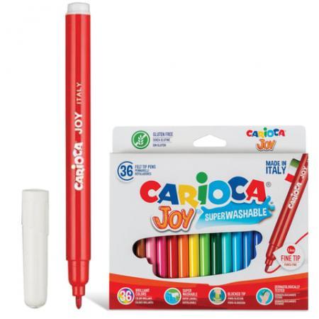 Набор фломастеров CARIOCA Joy 40616 2.6 мм 36 шт 151219 набор фломастеров carioca neon 8 шт 42785
