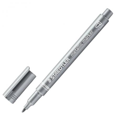 Маркер декоративный Staedtler 8323-81 2 мм серебристый