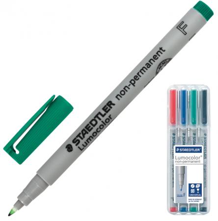 Набор маркеров Staedtler Маркеры влагостираемые универсальные 0.6 мм 4 шт ассорти крепления для профилей маячков 6 мм и 10 мм универсальные 100 шт