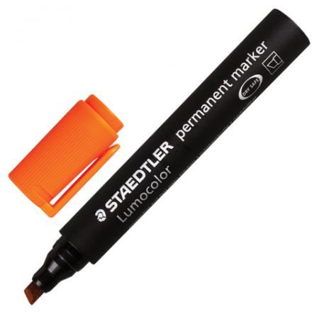 Маркер перманентный Staedtler 350-4 2-5 мм оранжевый