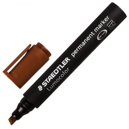 Маркер перманентный Staedtler 350-7 2-5 мм коричневый