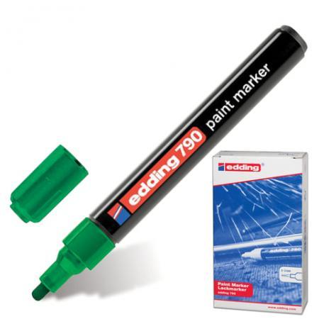 Маркер-краска лаковый Edding E-790/4 2, 3, 4 мм зеленый