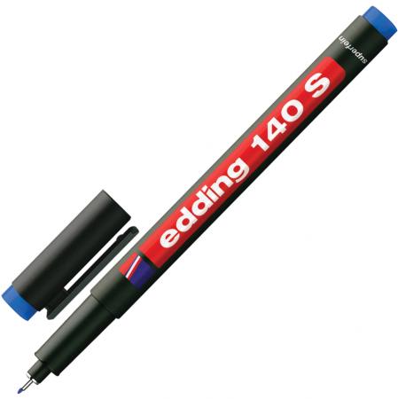 Маркер для пленок и глянцевых поверхностей Edding Маркер 0,3 мм синий