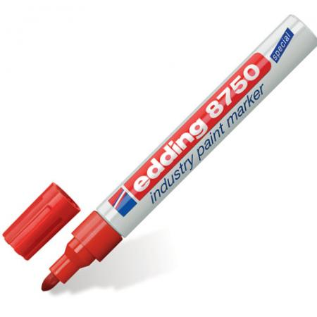 Маркер перманентный Edding E-8750/2 2-4 мм красный e cup 100 page 2