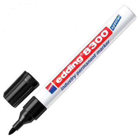 цена на Маркер промышленный Edding E-8300/1 1,5-3 мм черный