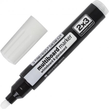 Маркер для доски 2x3 AS141Z 3 мм белый