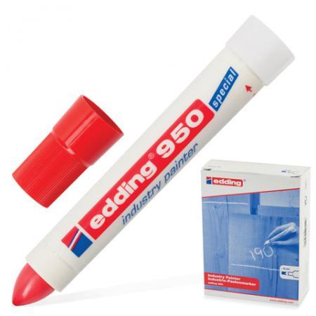 Маркер-паста Edding E-950/2 10 мм красный маркер edding e 950 1 10mm black 35722