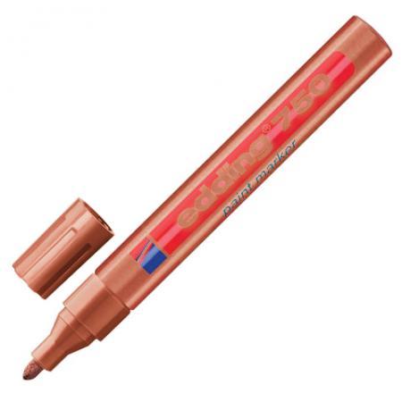 Маркер-краска лаковый Edding E-750/55 2-4 мм медный