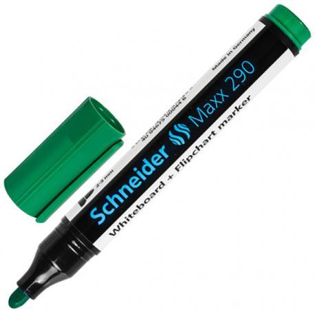 Маркер для доски SCHNEIDER 151345 Маркер для доски и флипчарта 2-3 мм зеленый