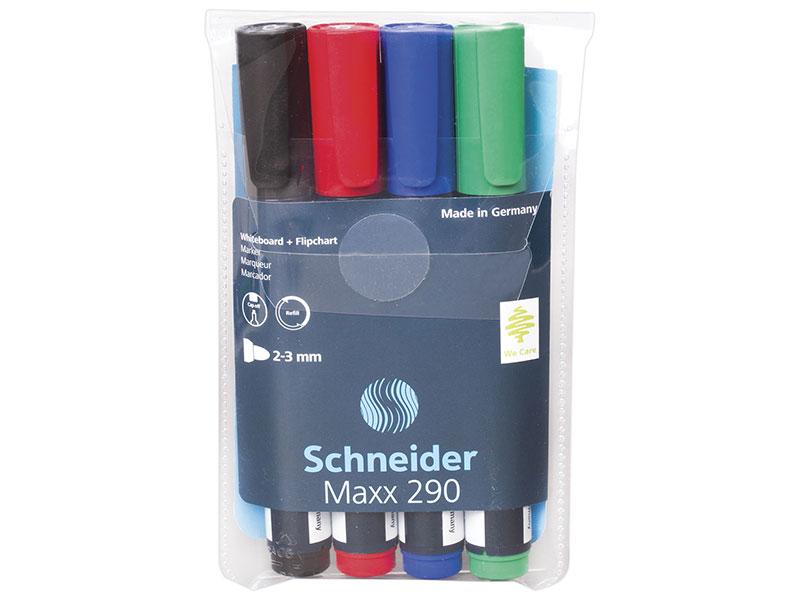 Маркер для доски SCHNEIDER 151346 Маркер для доски и флипчарта 2-3 мм красный