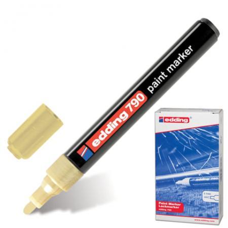 Маркер-краска лаковый Edding E-790/53 2, 3, 4 мм золотистый
