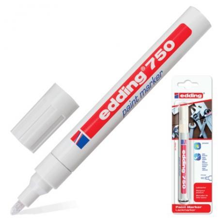 Маркер-краска лаковый Edding Е750/49 2-4 мм белый