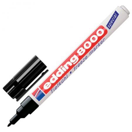 Маркер морозостойкий Edding E-8000/1 1 мм черный