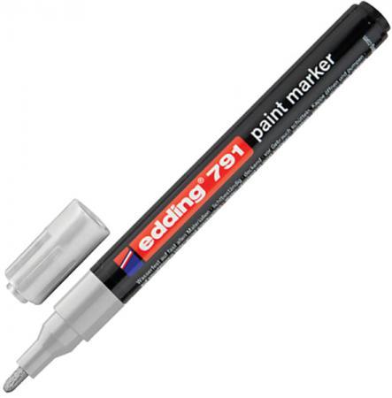 Маркер-краска лаковый Edding Маркер-краска лаковый 1-2 мм серебристый
