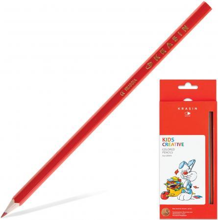 """Набор цветных карандашей Красин """"Веселый кролик"""" 24KW000101H 24 шт 177 мм"""