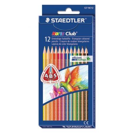 Набор карандашей Staedtler Noris club 127 NC12 12 шт 175 мм staedtler мелок восковой noris club 12 цветов