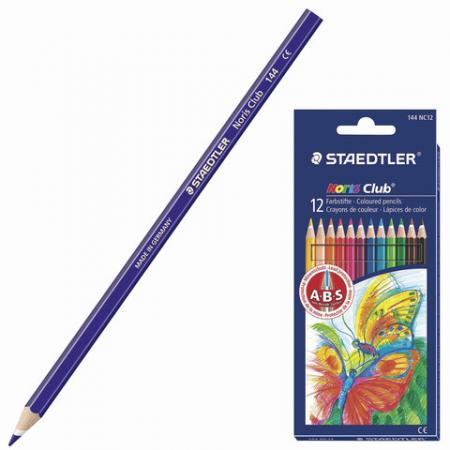 Набор карандашей Staedtler Noris club 144 NC12 12 шт 175 мм staedtler мелок восковой noris club 12 цветов