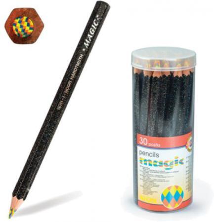 """Карандаш с многоцветным грифелем KOH-I-NOOR, 1 шт., Magic """"Neon"""", 5,6 мм, заточенный, 3405004031TD"""