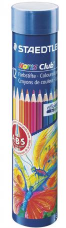 Набор цветных карандашей Staedtler Noris club 12 шт 175 мм staedtler мелок восковой noris club 12 цветов