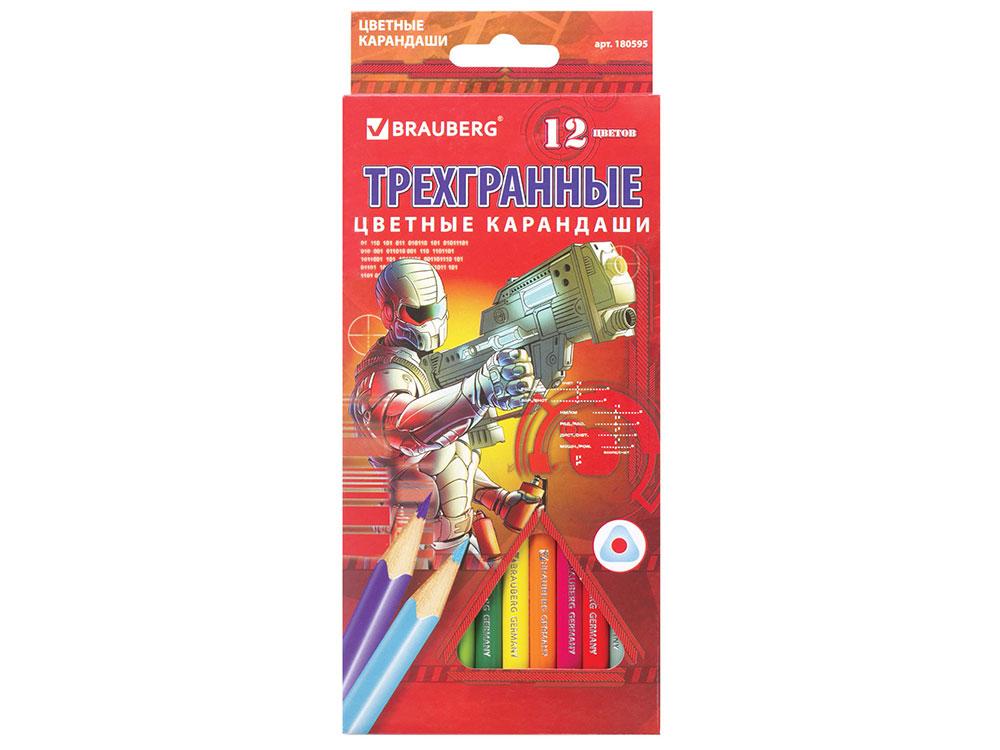 Набор цветных карандашей BRAUBERG