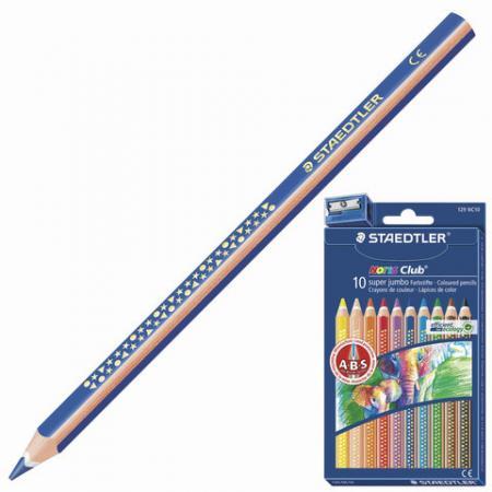 Набор карандашей Staedtler Noris Club 129 NC10 10 шт 175 мм staedtler мелок восковой noris club 12 цветов