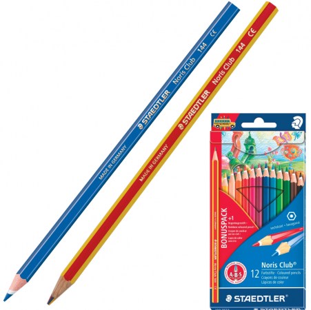 "Набор цветных карандашей Staedtler ""Noris club"" 13 шт 175 мм bonus pack"