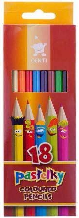 Набор цветных карандашей Koh-i-Noor Centi 2143018002KS 18 шт 175 мм koh i noor набор карандашей цветных том и джерри 36 цветов