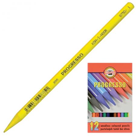 Набор цветных карандашей Koh-i-Noor Progresso 12 шт koh i noor набор карандашей цветных том и джерри 36 цветов