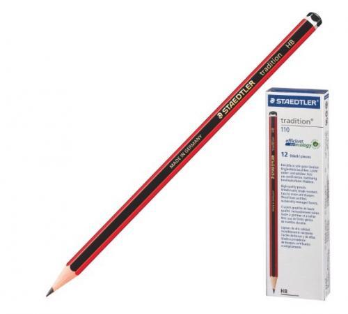 Карандаш графитовый Staedtler 181164 Tradition 180 мм карандаш графитовый
