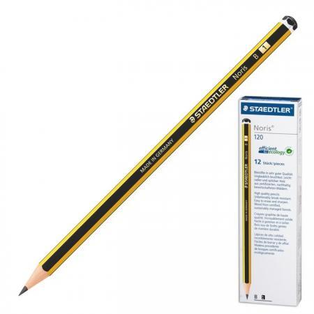 Карандаш графитовый Staedtler 181169 Noris 175 мм карандаш графитовый