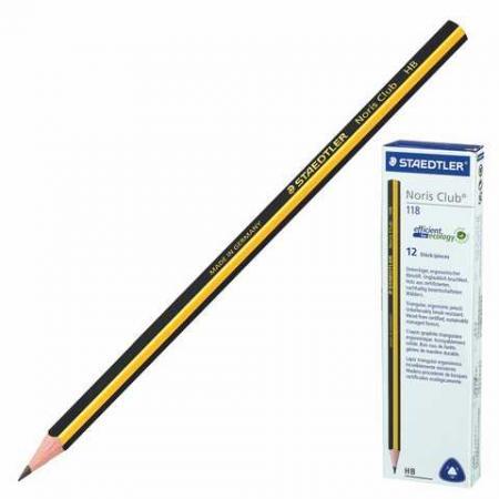 Карандаш графитовый Staedtler Noris Club 118 175 мм карандаш графитовый