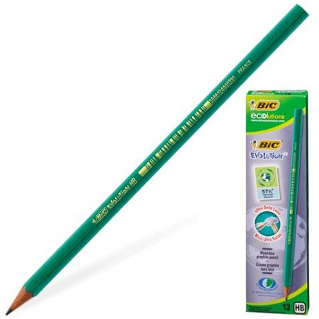 Карандаш графитовый BIC 180093 Evolution 175 мм карандаш графитовый