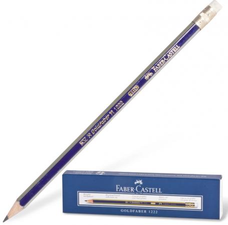 Карандаш графитовый Faber-Castell GOLDFABER 1222 186 мм faber castell корректор карандаш perfection 7056 2 шт