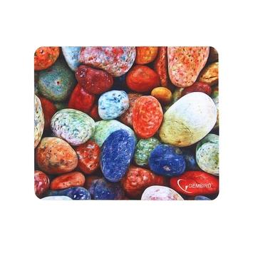 "Коврик для мыши Gembird MP-STONES, рисунок ""камни"", размеры 220*180*1мм, полиэстер+резина"