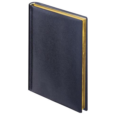 купить Ежедневник BRAUBERG недатированный, А6, 100х150 мм, Iguana, под зернистую кожу, 160 л., черный дешево
