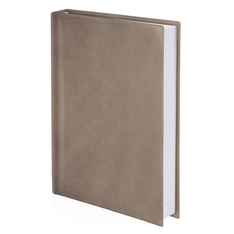 Ежедневник BRAUBERG недатированный, А5, 138х213 мм, Forte, под перламутровую кожу, 160 л., бежевый ежедневник brauberg new york а5 192 листа