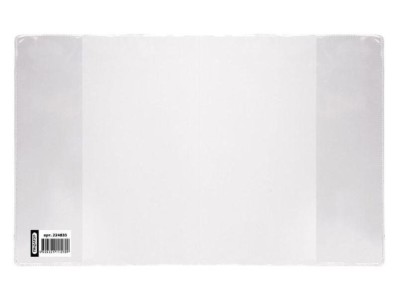 Обложка ПВХ для дневника в жестком переплете и учебников для младших классов, ПИФАГОР, прозрачная обложка для учебников а4 прозрачная