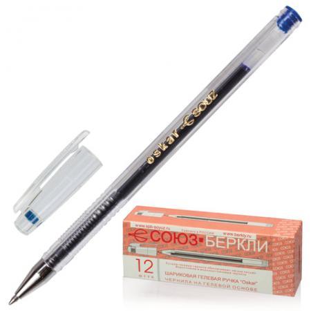 Ручка гелевая СОЮЗ Oskar синий 0.4 мм цена